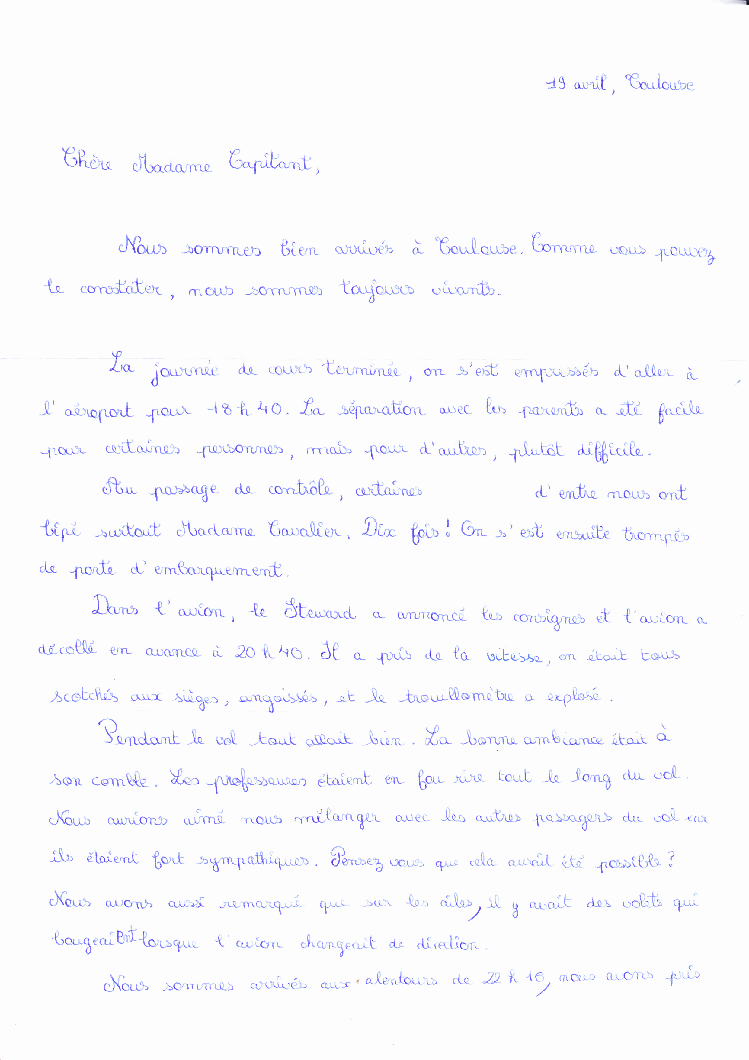 Jour 1 - page 1
