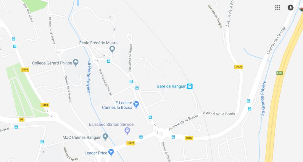 Où trouver le collège Gérard Philipe de Cannes