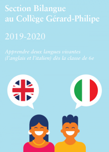 Section bilangue anglais italien