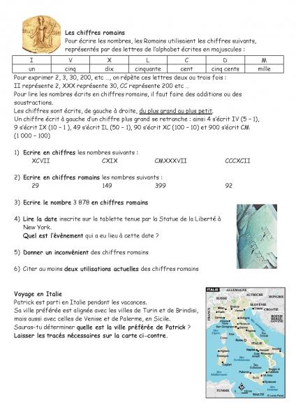 activité-maths-les-chiffres-romains